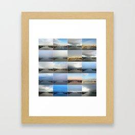 The Many Faces of the Fremont Bridge Framed Art Print