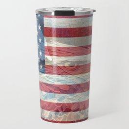 """"""" USA Strong """" Travel Mug"""