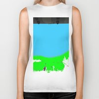 lonely Biker Tanks featuring Lonely by lookiz