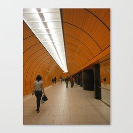 Munich U-Bahn Canvas Print