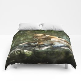 Portland Lioness Comforters