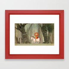Boudica Framed Art Print