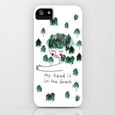 My head is in the forests iPhone (5, 5s) Slim Case