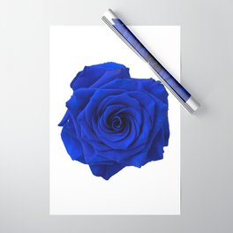 blue rose Wrapping Paper