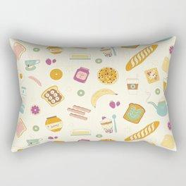 Who else loves breakfast? Rectangular Pillow