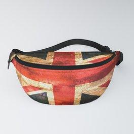British UK Flag Grunge Vintage Fanny Pack