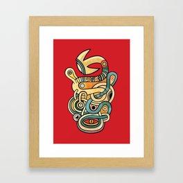 l'oeil et l'esprit Framed Art Print