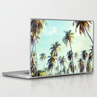 palm Laptop & iPad Skins featuring Palm by Sol&Co
