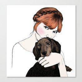Emily and Arthur Miller Canvas Print