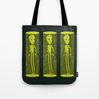 captain swan Tote Bags featuring Captain by Derek Eads