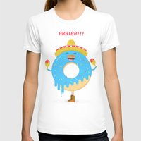donut T-shirts featuring donut by slava