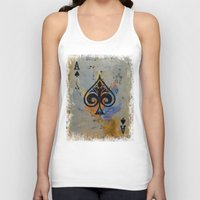 ace Tank Tops featuring Ace by Michael Creese