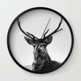 The Three Stags Wall Clock