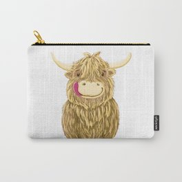Wee Hamish Highland Cow Carry-All Pouch