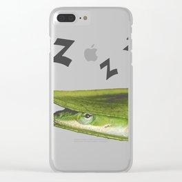 Cute fun cool hipster Clear iPhone Case