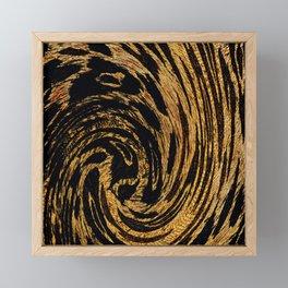 Animal Print Leopard Swirl 2021 Framed Mini Art Print