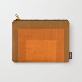 Block Colors - Orange Carry-All Pouch