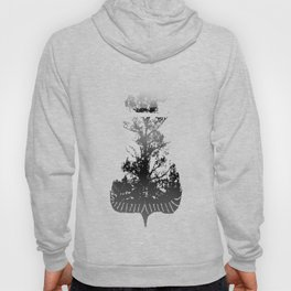 Then There is Cold... in Black and White Hoody