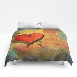 Cupids arrow strikes Comforters