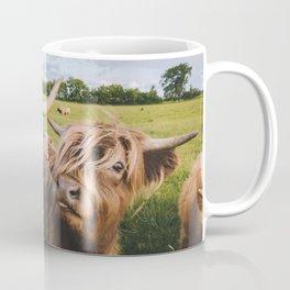 Highland Cows - Blep Coffee Mug
