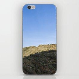Blue sunrise iPhone Skin