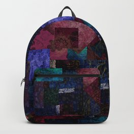 Bohemian Patchwork Hippie Festival Backpack