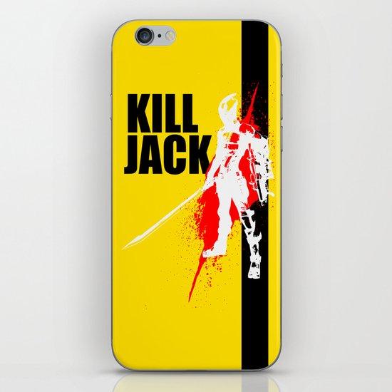 KILL JACK - ASSASSIN iPhone & iPod Skin