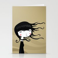 wind Stationery Cards featuring Wind by Volkan Dalyan