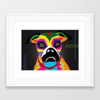 doge Framed Art Prints featuring doge by YehudArt