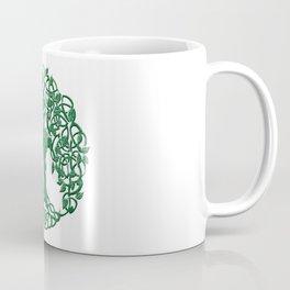 Tree of life green Coffee Mug