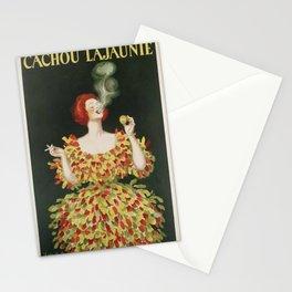 Vintage poster - Cachou Lajaunie Stationery Cards