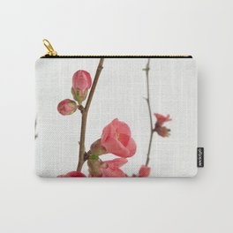 Chaenomeles speciosa Japanese flowers Carry-All Pouch