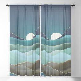 Moonlit Vista Sheer Curtain