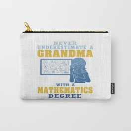 Mathematics Grandma Carry-All Pouch