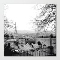 paris Canvas Prints featuring Paris by Studio Laura Campanella
