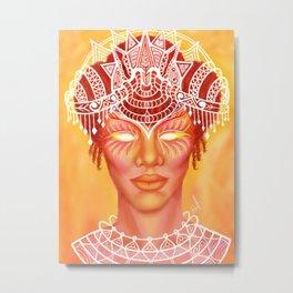 Powerful Empress Metal Print