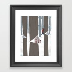 A Tree In The Forest Framed Art Print