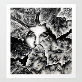 Veiled Shadow Art Print