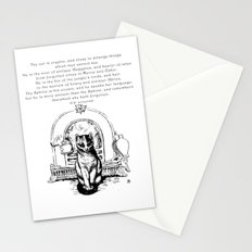 The Cat is Cryptic Stationery Cards