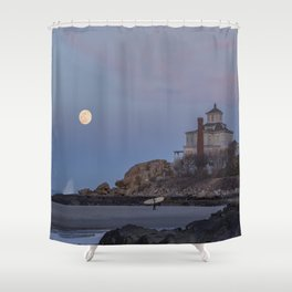 Surf's Over Shower Curtain