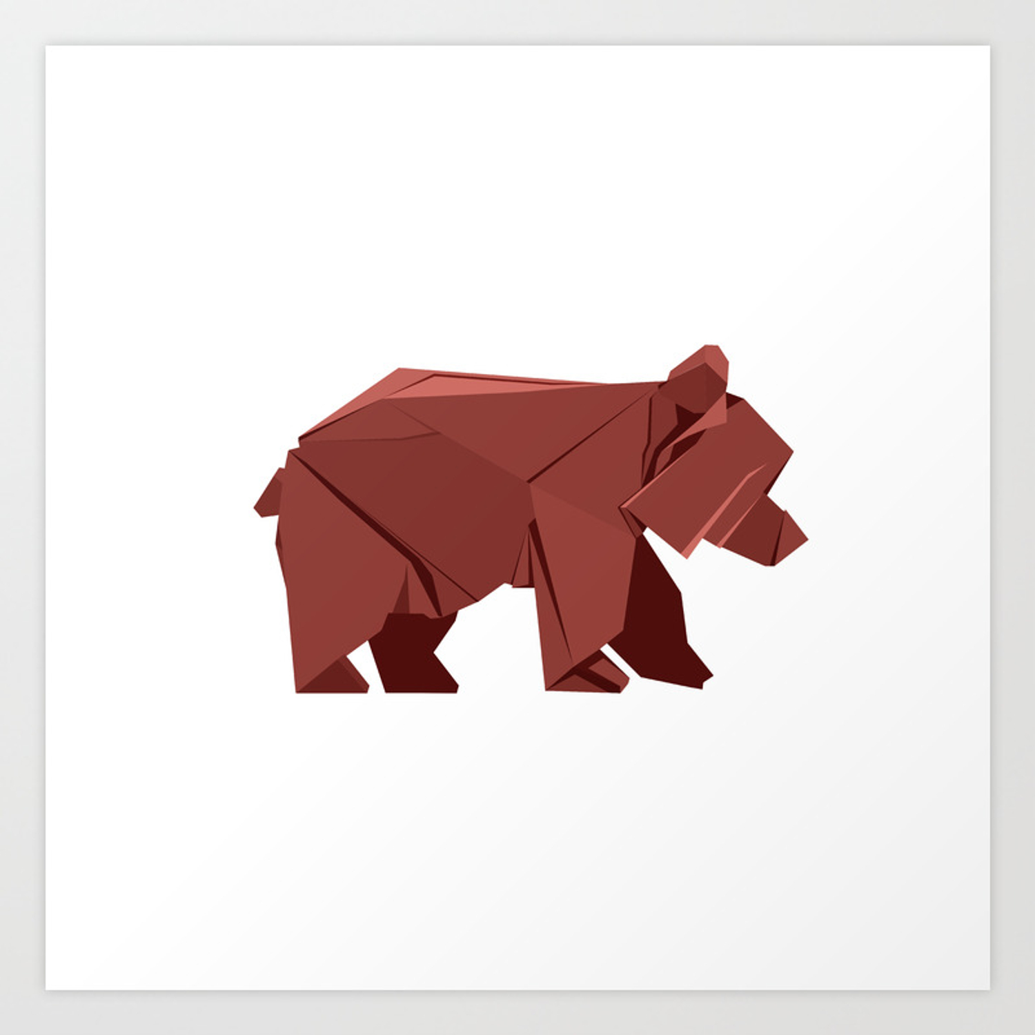 Origami bear instructions | Step by step instructions how to make ... | 1500x1500