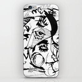 The Pretty People - b&w iPhone Skin
