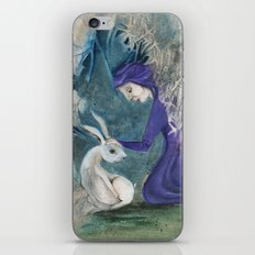 Witch and Hare iPhone & iPod Skin