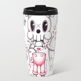 Skulltoons No.4 Travel Mug