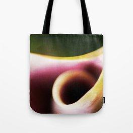 Calla Lily Abstract Tote Bag