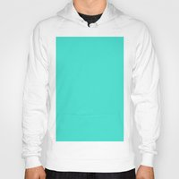 turquoise Hoodies featuring Turquoise by List of colors