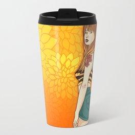 Girl - Orange Travel Mug