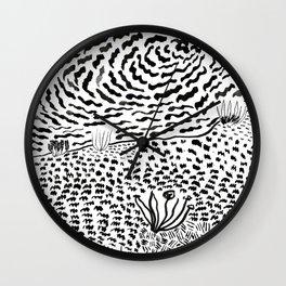 Beach Abstract (2) Wall Clock