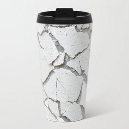 Abstract concrete wall Travel Mug