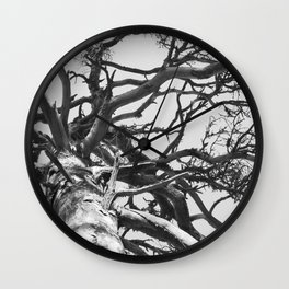 Pinewood Wall Clock
